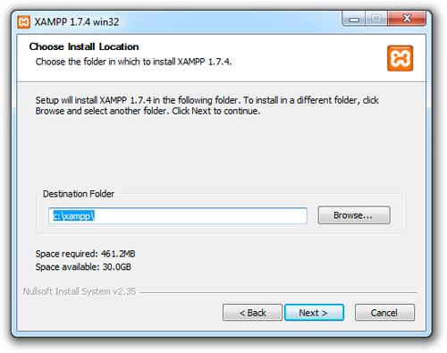 XAMPP(WINDOWS版本)官网下载