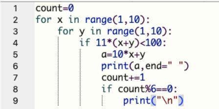 【Python基础100 例】python入门之29例~31例