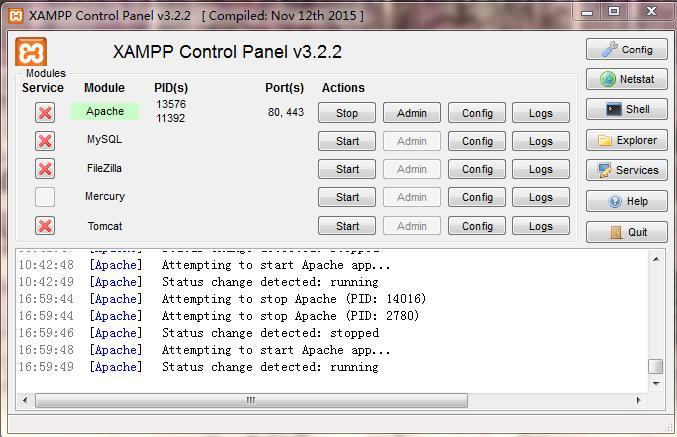 xampp教程:xampp配置虚拟主机案例